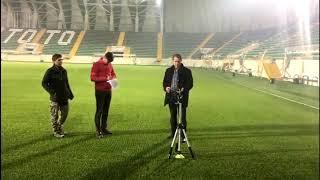 Spor Toto Akhisar Belediye Stadyumu ışıklandırma kontrolleri TFF tarafından yapıldı