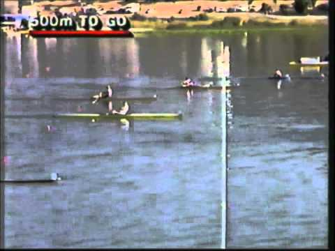 1984 Olympic Games Rowing - Women's Single Sculls