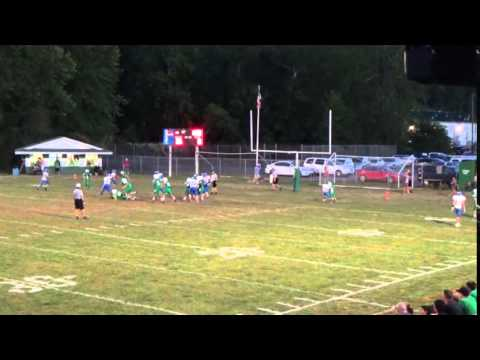 Logan Middle David Early breaks tackles and scores TD
