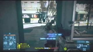 BF3 : 330 KILLS WORLD RECORD MOST KILLS ON PS3