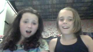 Amy and Laura singing Nicki Ninaj Pound The Alarm :D xx Thumbnail
