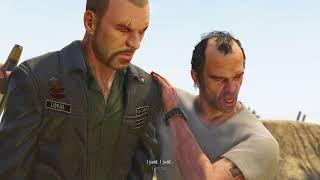 GTA 5 (PS4 60FPS) - Mission #15 - Mr.Philips (Trevor kills Johny Klebitz from GTA 4)
