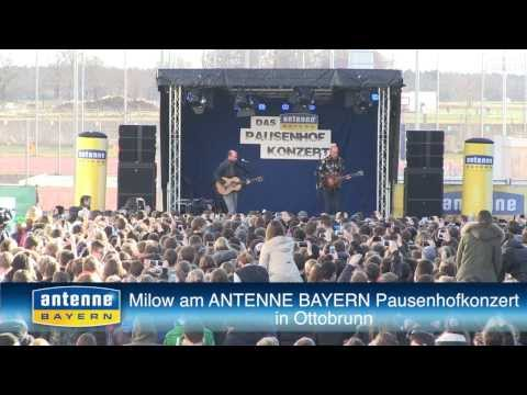 antenne bayern pausenhofkonzert in ottobrunn mit milow. Black Bedroom Furniture Sets. Home Design Ideas