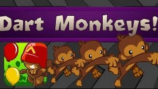 40+ Dart Monkeys! | Bloons TD Battles!