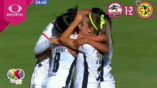 Resumen | Lobos BUAP 1 - 2 América | Liga MX Femenil - J9 | Televisa Deportes