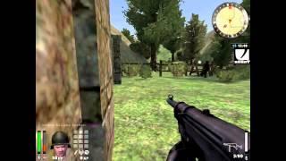 Return to castle Wolfenstein Enemy Territory Online Gameplay PC - Danu