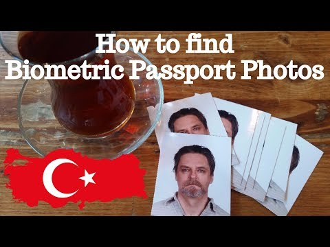 How to Get Biometric Passport Photos - Turkey