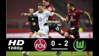 Nurnberg vs Wolfsburg 0-2 Bundesliga 14/12/2018 HD