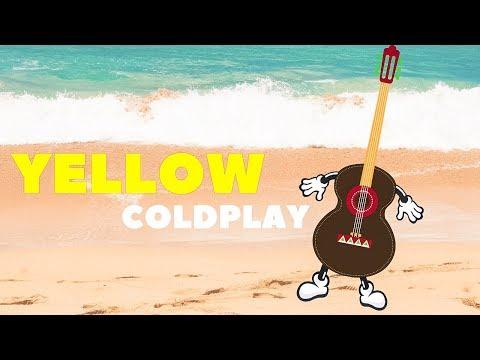 Yellow - Coldplay (Acoustic Guitar Karaoke)