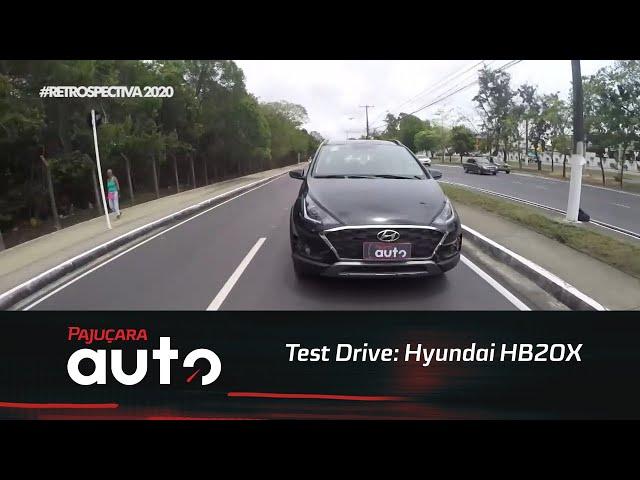 Retrospectiva 2020: Reveja o test drive do novo Hyundai HB20X