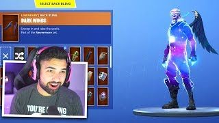 The Best Galaxy Skin Combination in Fortnite..