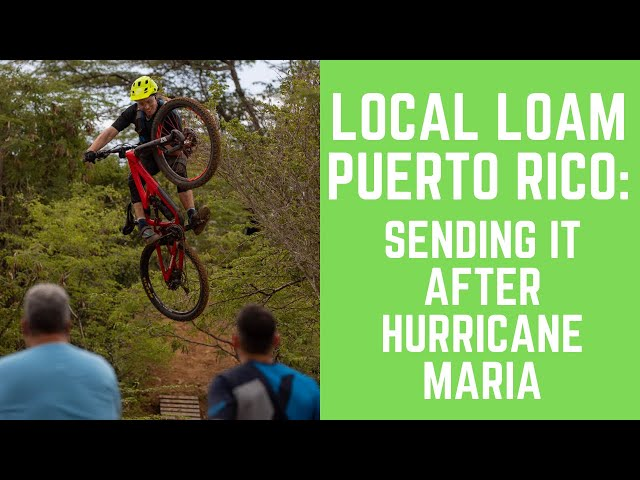They had trails. Then the hurricane brought the next step
