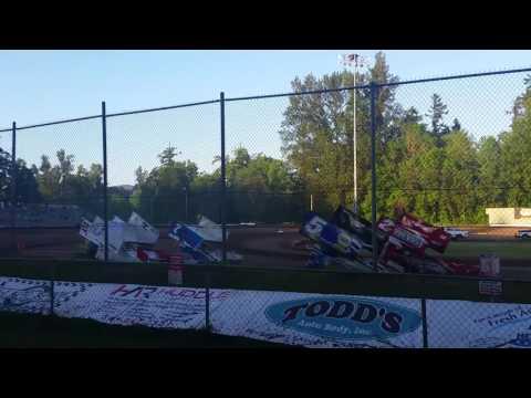 Cottage Grove Speedway Crash