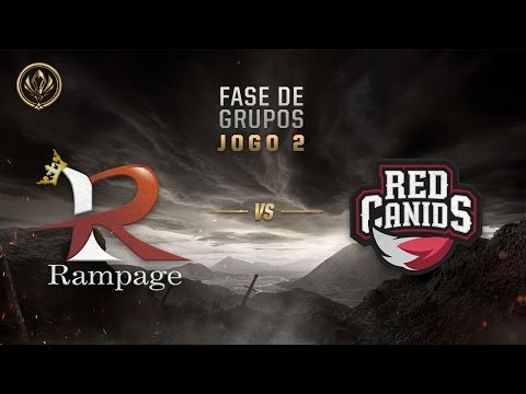Rampage x Red Canids (Fase de Entrada - Dia 3)