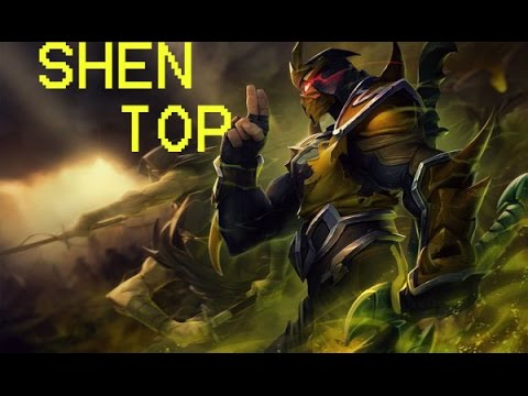 Yellow Jacket Shen Top - gameplay - League Of Legends ...