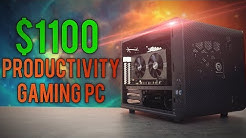 BEST $1100 Gaming/Productivity PC Build | July 2017