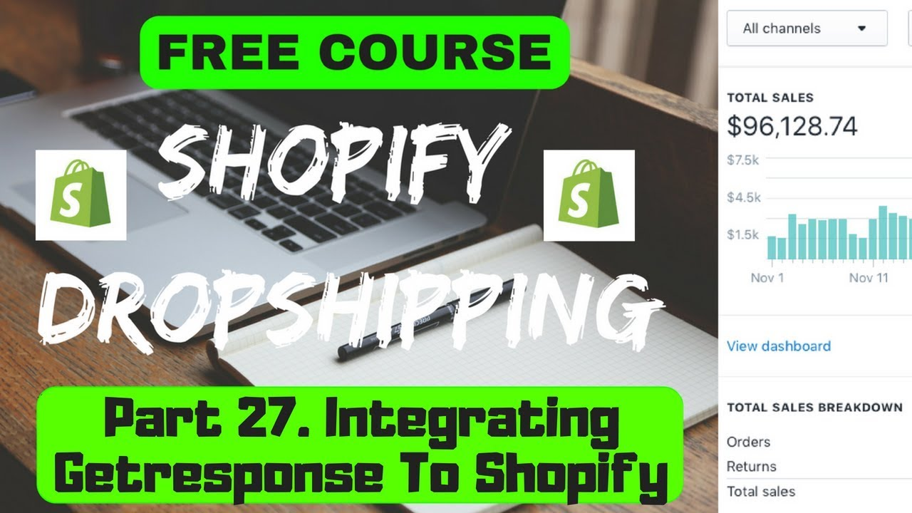 free dropshipping course part 27 integrating getresponse to shopifyfree dropshipping course part 27 integrating getresponse to shopify