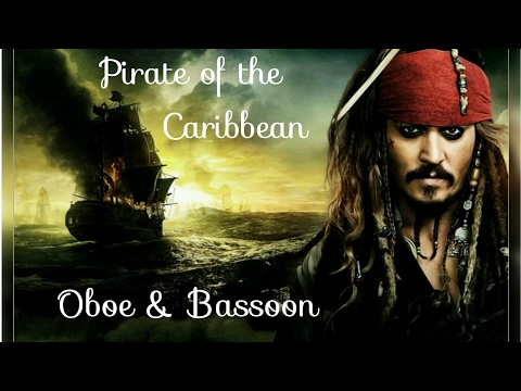 Pirates of the Caribbean Oboe & Bassoon