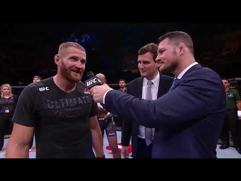 UFC Сан-Паулу: Блахович vs Жакарэ - Слова после боя