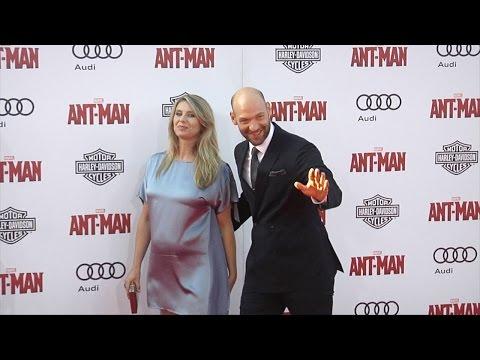 Corey Stoll & Nadia Bowers  Marvel's AntMan World Premiere Red Carpet