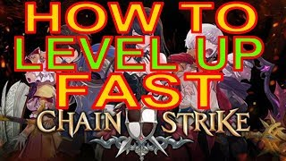 How To Level Up Fast - Chain Strike