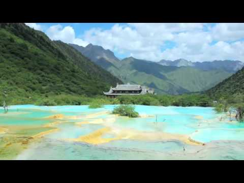 Huanglong Scenic Area, Sichuan China   Travel Guide