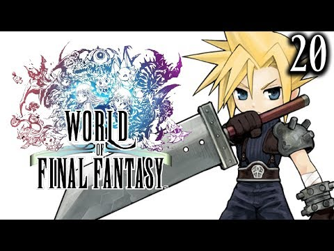 IS THAT CLOUD STRIFE!? - World Of Final Fantasy Let's Play w/ Sacred: Part 20 Gameplay Walkthrough
