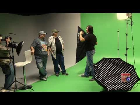 LIGHTING FASHION - Part1 : Studio Photography Workshop with Bowens, Impact, Fotodiox, Calumet brands