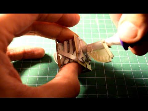 Throttle for v8 paper engine