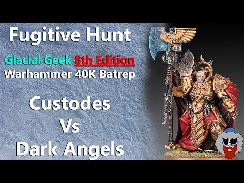 Adeptus Custodes VS Dark Angels - 8th Edition Warhammer 40K Batrep - 2,000pts