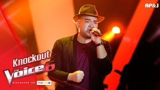 Knock Out : กฤษ VS ซิลวี่ 1/3 - ยังจำไว้ - The Voice Thailand 6 - 24 Dec 2017