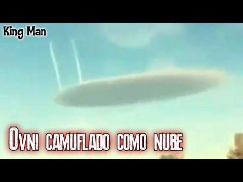 OVNI camuflado como nube : Los testigos aseguran que el ovni se camuflaba en forma de nube