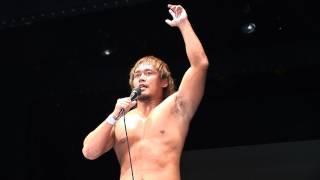 2011年9月21日大阪・世界館 NEVER.7 内藤哲也vsKUSHIDA.
