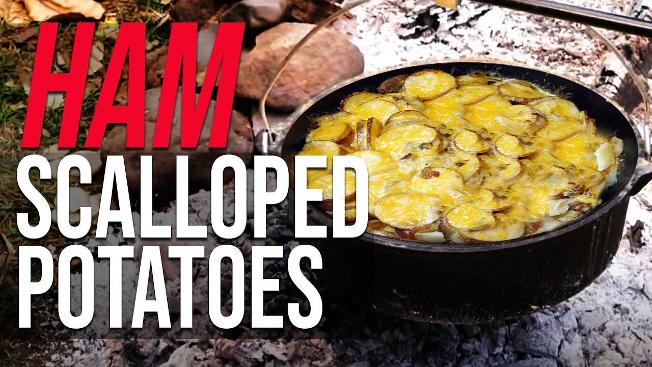 recipe: campfire dutch oven scalloped potatoes [7]