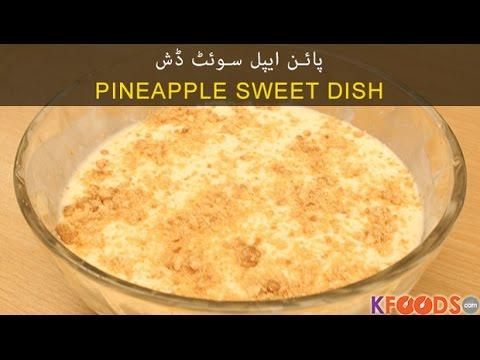 how to make pineapple custard