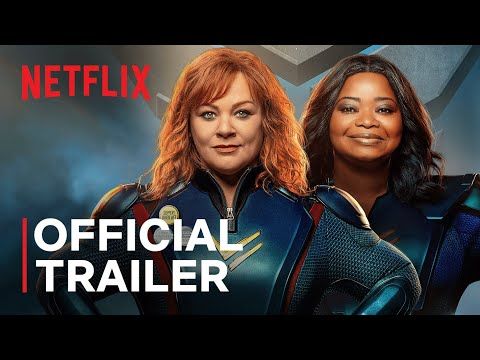Thunder Force | Melissa McCarthy and Octavia Spencer | Official Trailer | Netflix