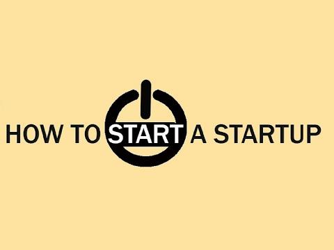 How to Start a Startup IIM Ahmedabad Live Stream