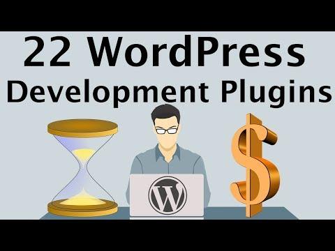 22 WordPress Development Plugins for Themes & Plugin Developers