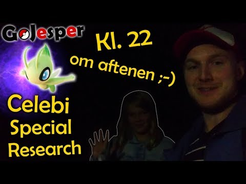 Celebi Special Research kl. 22 om aftene!! ;-) (Dansk Pokémon GO) thumbnail