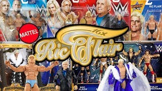 RIC FLAIR - Every WWE Figure Mattel Have Made So Far!!