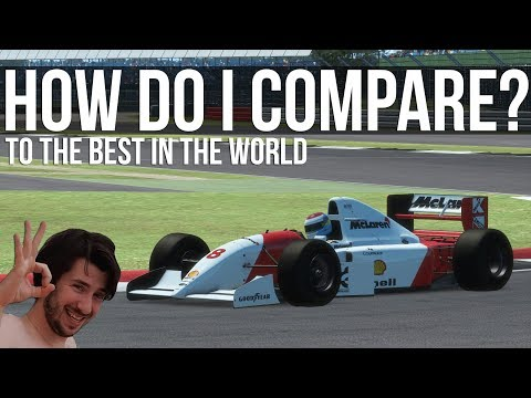How Do I Compare To Some Of The World's Fastest Sim Racers?