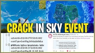 *NEW* Fortnite: LEAKED LIVE EVENT ON 21st! *Crack In Sky Shrinking* | (Season 5 Storyline Event)
