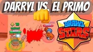 DARRYL VS EL PRIMO - DER BESTE BRAWLER? 💥 BRAWL STARS