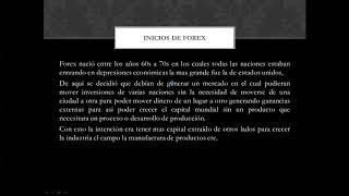 principios de forex y market makers method