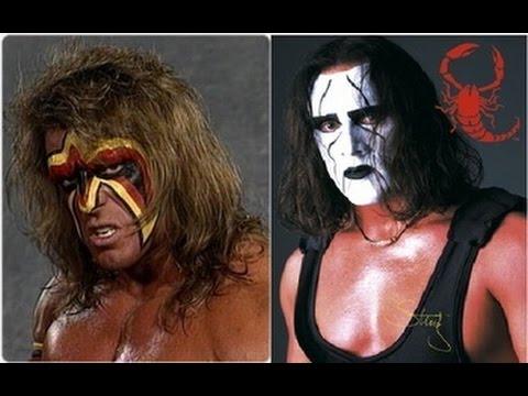 Booking revolution- Sting vs Ultimate Warrior-Dream match ...