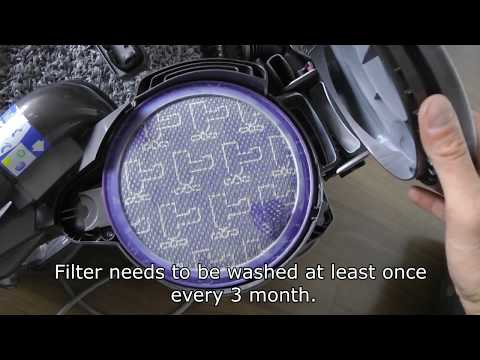 How To Properly Clean Dyson DC 23 Vacuum Cleaner.