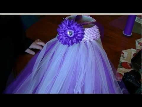 How To Make Tutu Dress
