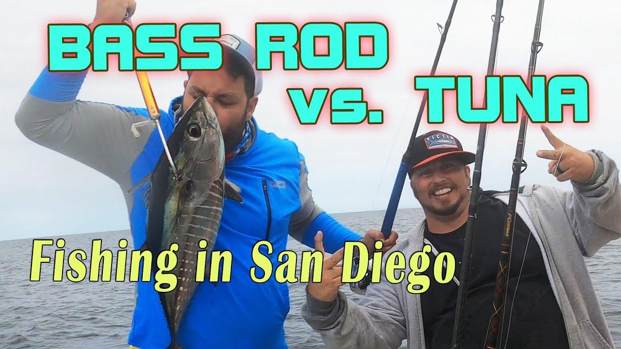 Shimano TranX Reel vs. TUNA - Fishing in San Diego