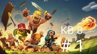 Clash Of Clans kb8 saldırıları
