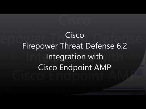 13  Firepower Threat Defense 6 2: FMC and Endpoint AMP (Integration)